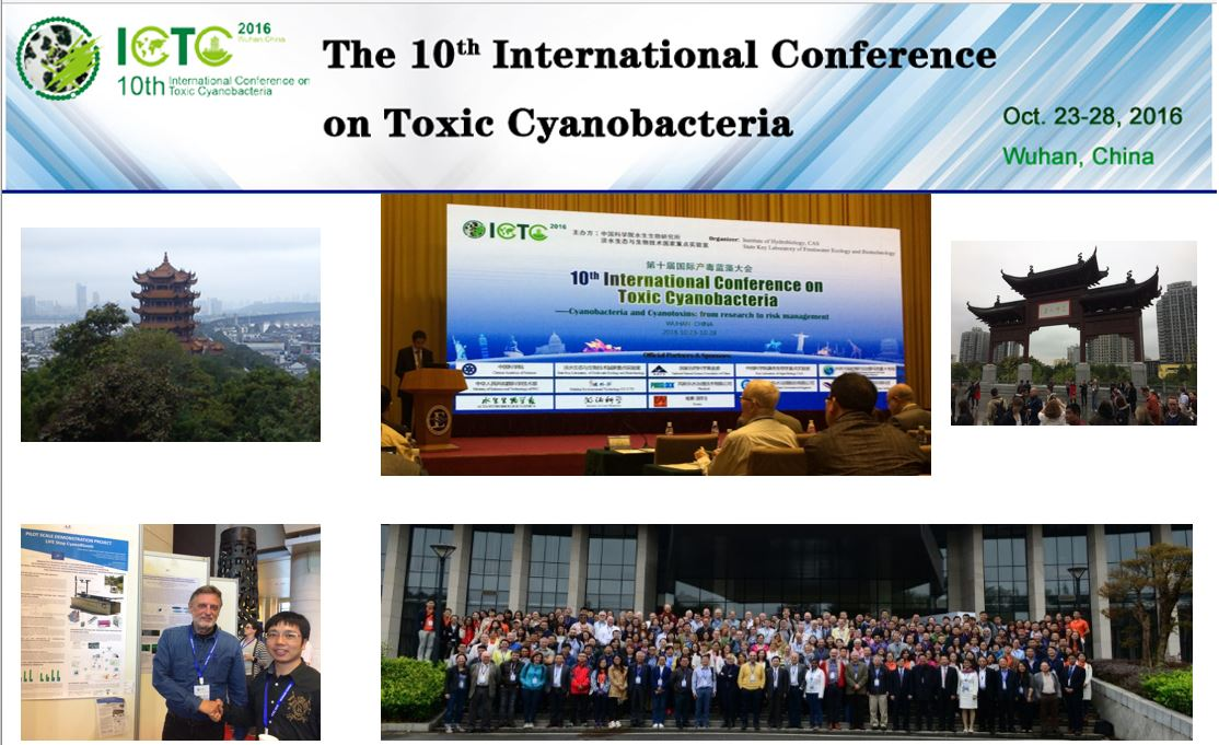 Presentation of the project LIFE Stop CyanoBloom on the 10th International Conference on Toxic Cyanobacteria