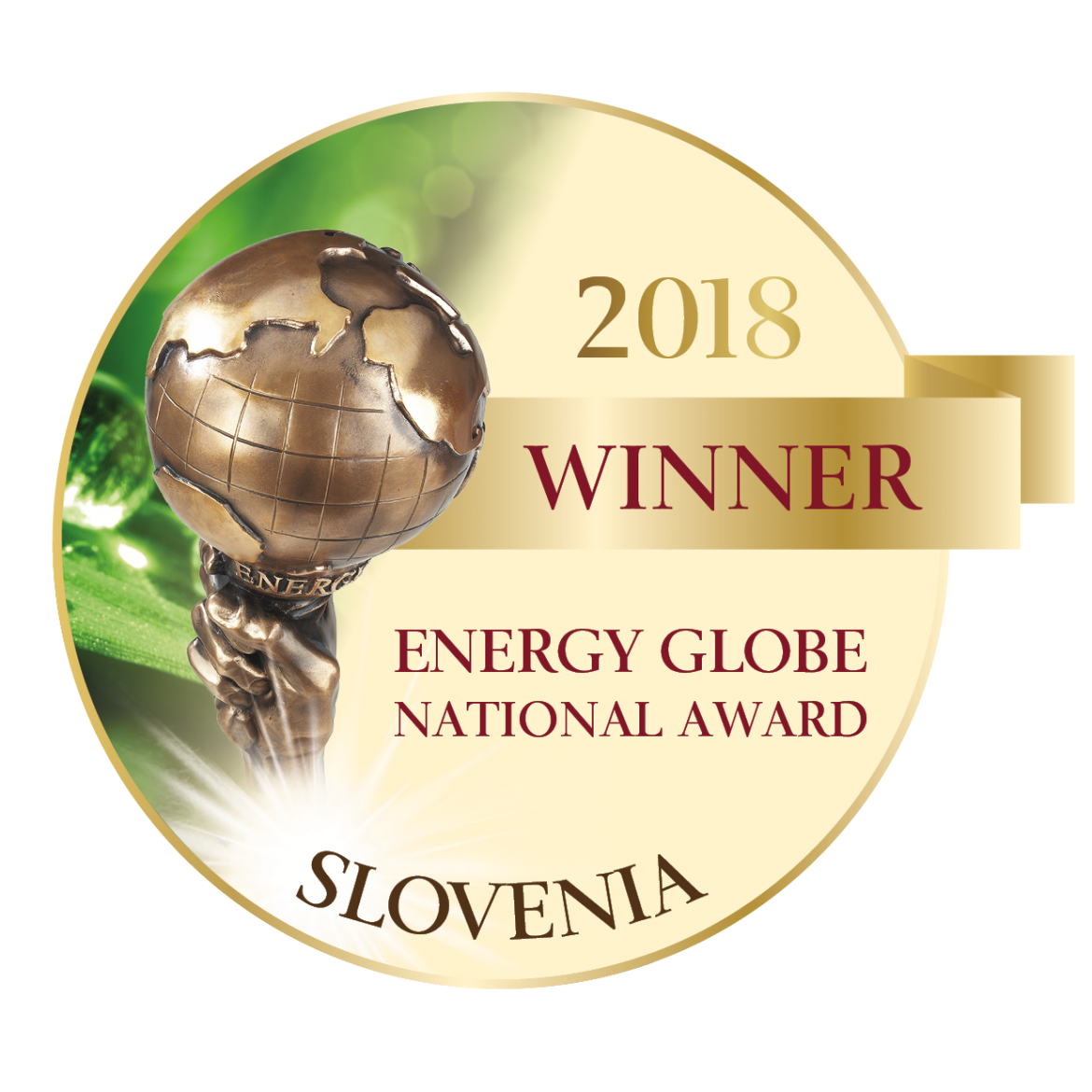 ARHEL is a winner of National Energy Globe Award Slovenia 2018