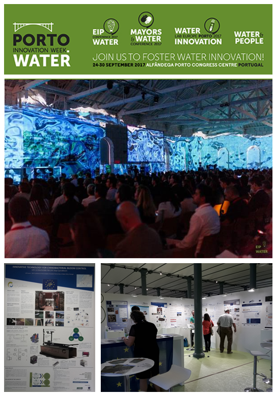 LIFE Stop CyanoBloom project presented in Porto on EIP on Water Conference