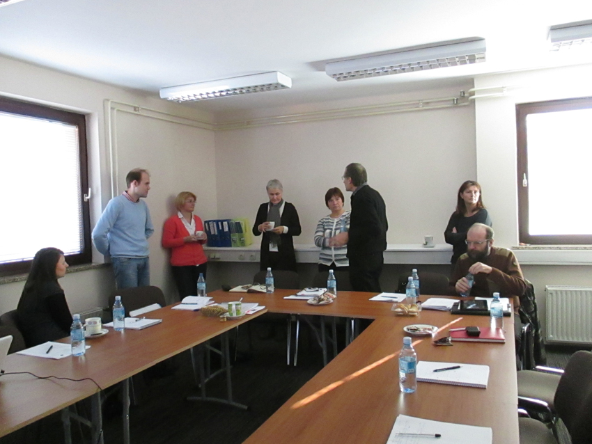 The first visit of the external supervisor and Control Steering Group meeting