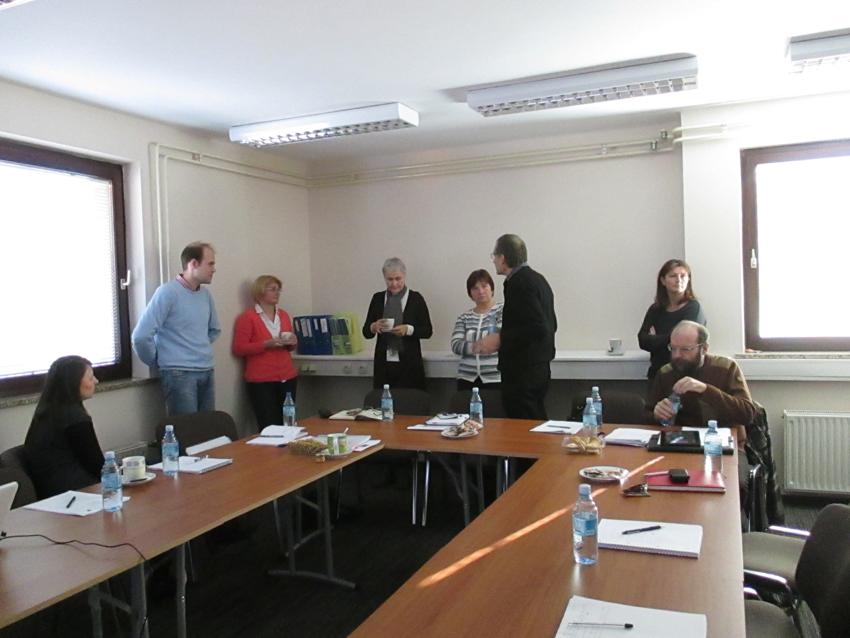 Prvi obisk zunanjega nadzornika in sestanek Nadzorno usmerjevalne skupine