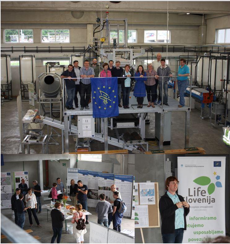V soboto, 20. maja 2017 smo se s projektom LIFE Stop CyanoBloom predstavili na dnevu odprtih vrat projekta LIFE ReSoil