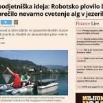 Robotsko plovilo najpodjetniška ideja v časopisu Finance