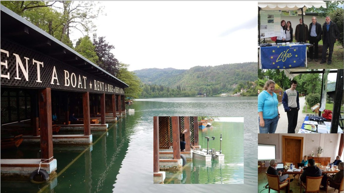 A third monitoring visit and a second open day of the LIFE Stop CyanoBloom project at Lake Bled