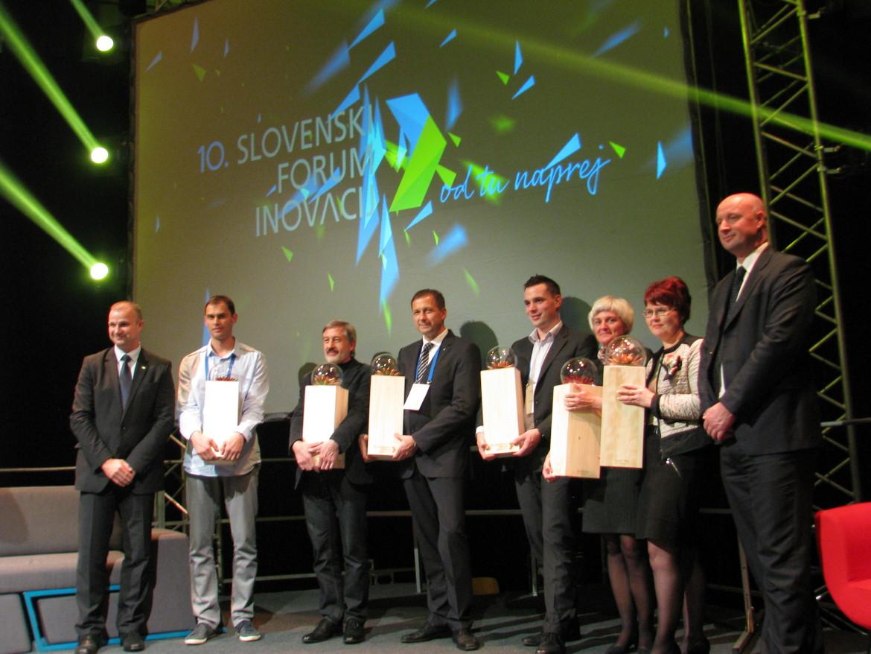 Arhel has won two awards at the 10th Slovenian Innovation Forum