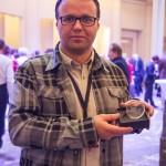 Tomaz Varlec Arhel Europe in my Region 2015 medal